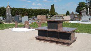 Columbarium au cimetière