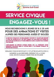 Service civique CC2SO